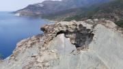 Angle through rockhole