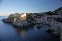 Looking north from the Dubrovnik city wall