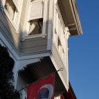Ataturk hanging out in the sun