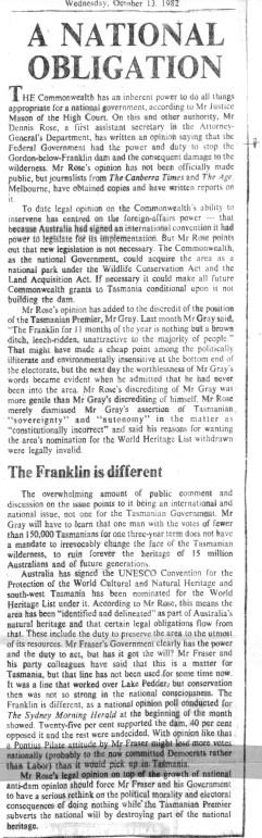 Age Editorial October 13, 1982