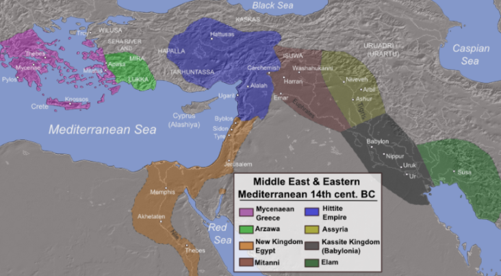 Assyria and other ancient world kingdoms