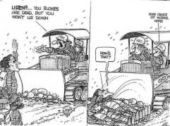 Franklin cartoon