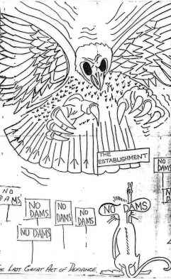 Franklin eagle cartoon