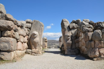 Lion Gate at Hattusa