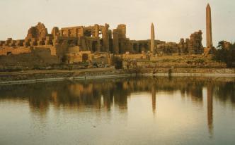 The sacred Lake at Karnak
