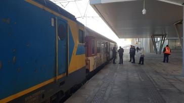 The Avala - the Vienna Express from Belgrade