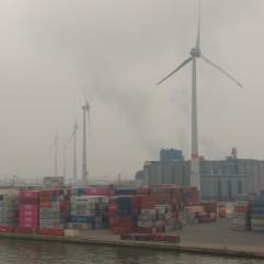 Antwero docks windfarm
