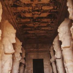 Inside Ramses temple, Abu Simbel
